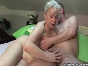 Una vieja con necesidad de follar