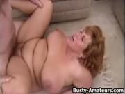 Las gordas maduras también disfrutan del sexo