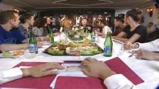 Orgía en la cena de empresa