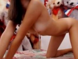Joven morena enseña su cuerpazo por webcam