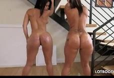 Dos latinas lesbianas con mucho morbo